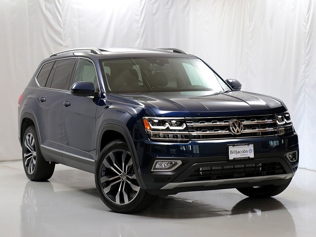 New 2019 Volkswagen Atlas SEL Premium 4Motion With Navigation & AWD