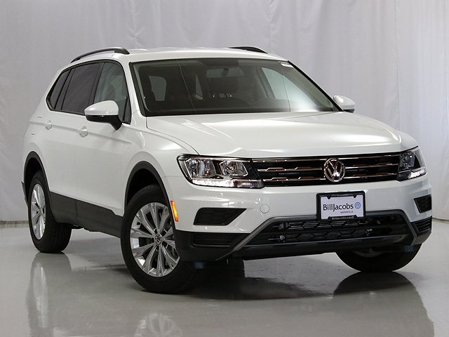 New 2019 Volkswagen Tiguan S With 4motion Suvs In Naperville