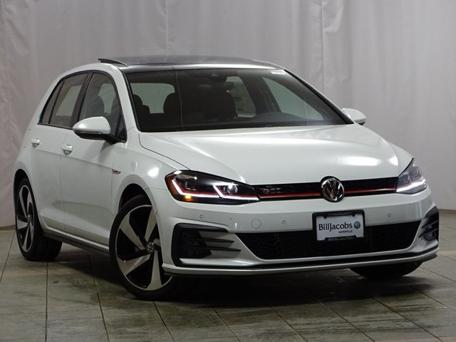 new 2018 volkswagen golf gti autobahn 4d hatchback in naperville v18016 bill jacobs volkswagen. Black Bedroom Furniture Sets. Home Design Ideas